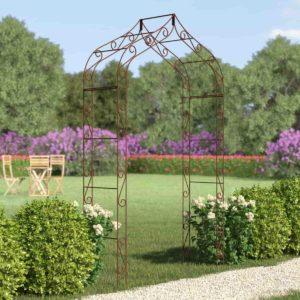 Arche de jardin en fer Gothique