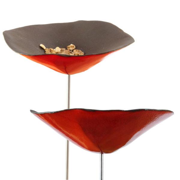 mangeoire-coquelicot-ceramique-11cm