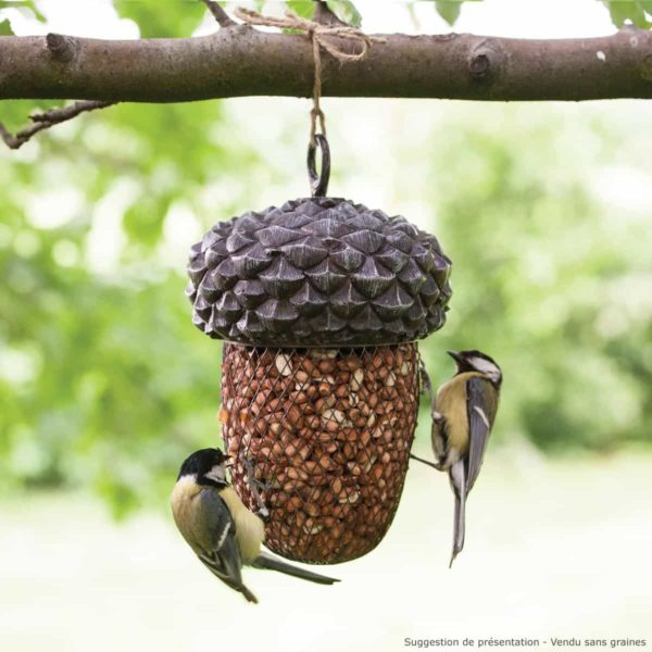 Mangeoire Gland pour oiseaux à suspendre