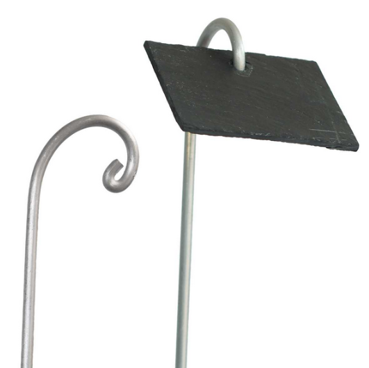 Porte étiquette aluminium 80cm