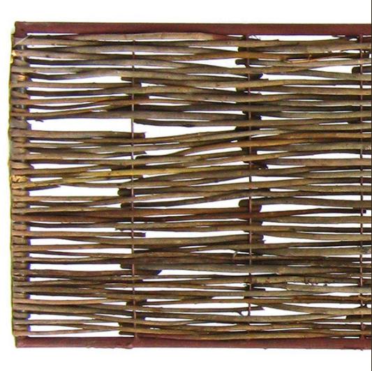 Bordure médiévale bois acacia + U de fixation