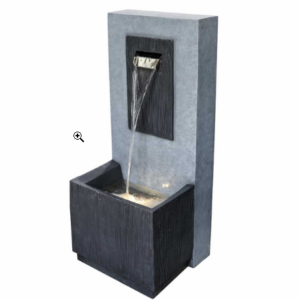 Fontaine cascade à LED rectangle