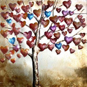 tableau arbre coeur